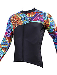 PALADIN Bike/Cycling Jersey / Tops Men's Long SleeveBreathable / Ultraviolet Resistant / Quick Dry / Compression / Lightweight Materials