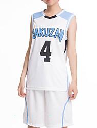 Kuroko's Basketball Luo Derby School Akashi Ball Clothes Cosplay Costumes