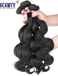 """1 pc / lot 12 """"-20"""" 8a malaysische reine Haarkörperwellen-Menschenhaareinschlagfäden 100% unverarbeitetes malaysischer remy Haar spinnt"""
