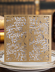 Personalized Double Gate-Fold Wedding Invitations Invitation Cards - 49 Piece/Set/50 Piece/Set