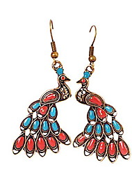 Damen Ohrring Legierung Drop Earrings