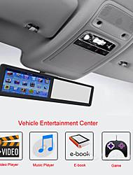 DVD Player Automotivo - Embutido no Teto - 480 x 272 - 5 Polegadas