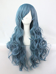 2015 Hot Sale Long Cosplay Wigs Anime Synthetic Wigs cosplay Party Hair Wigs Long 70CM