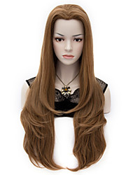 The European and American Fashion Beauty Tip Long Bangs Level Adduction Wig