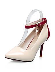 женская обувь пу весна / осень пятки / лодыжки ремень / пальца ноги пятки заостренный офис&карьера / вскользь стилет каблук