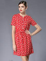 Heavy summer yards dress new fat lady easy draw string printed long beach dress