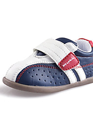 Perforated Baby Boys Sport Shoes Faux Leather Toddlers Outdoor Fashion Sneakers Blue/Pink/Gray/Navy
