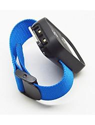 cinto de nylon para gopro hero3 + / 3 remoto wifi, preto / azul