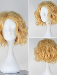 One Piece Sabo Men's Short Curly Golden Color Anime Cosplay Wig