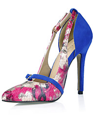 Women's Heels Summer Fall Comfort PU Office & Career Dress Casual Multi-color