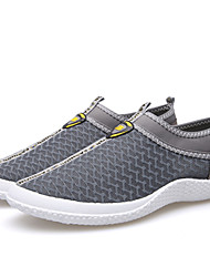 Men's Shoes Outdoor/Athletic Tulle Athletic Shoes Blue/Yellow/Gray