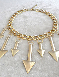 New Arrival Fashional Hot Selling Popular Arrow Necklace