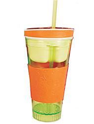 snackeez чашка перемещения закуски напиток в одном контейнере (случайный цвет)