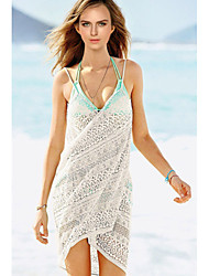 Women's Floral Lace Wrapped Beach Cover-Up