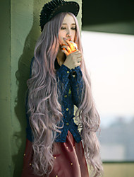 Japão e Coréia do Sul modelos explosão de longos cabelos cor de fio de alta temperatura de alta qualidade