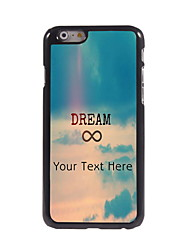 Personalized Gift Dream Design Aluminum Hard Case for iPhone 6