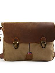 Men and women canvas shoulder bag messenger bag casual retro Korean version bag