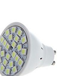 5 pcs Ding Yao GU10 5W 24SMD 5050 250-350LM 2800-3500/6000-6500K Warm White/Cool White Spot Lights AC 220-240V