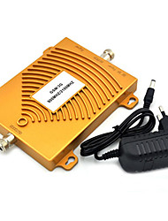 GSM 900Mhz 3G W-CDMA 2100MHz Dual Band Mobile Phone Signal Booster , Mini 2G 3G Signal Repeater + Power Adapter