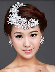 Crystal Hair Flower Bride Hair Wedding Headdress Wedding Accessories One Piece