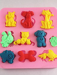Bakeware Animals Fondant Mold Cake Decoration Mold
