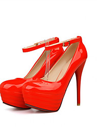 Women's Shoes Synthetic Chunky Heel Heels/Basic Pump Pumps/Heels Office & Career/Dress/Casual