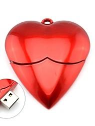 romantique coeur rouge modèle usb 2.0 stick mémoire flash USB de stylo 4gb