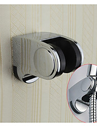 Chrome Finish ABS Plastic Wall Mounted Handheld Shower Holder Bracket