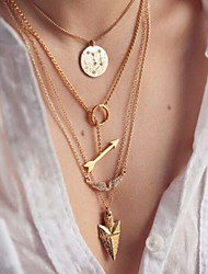 Masoo Women's Fashion New Arrival Hot Selling Multi-layer Necklace