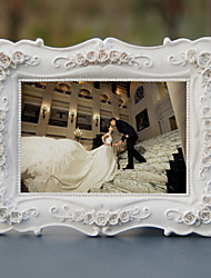 Cornici per foto ( Rosa/Bianco Floreale