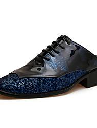 Zapatillas ( Cuero , Negro/Azul/Rojo/Amarillo Zapatos de hombre