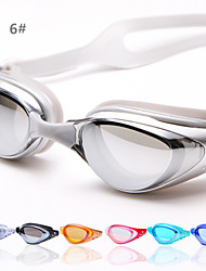 Antifog Swimming Glasses/Ploycarbonate Antifog Coating Multi Color