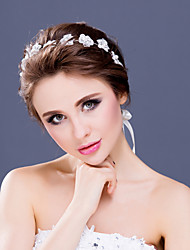 Flower Girl's Rhinestone / Alloy / Imitation Pearl Headpiece-Wedding / Special Occasion / Casual Tiaras / Headbands 1 Piece Clear