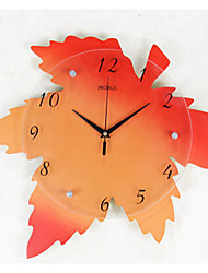 Maple simple wall clock