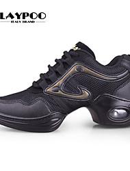 Sapatos de Dança ( Preto/Rosa/Dourado ) - Mulheres - Não Personalizável - Sapatilhas de Dança/Moderno/Ginástica
