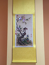 Landscape/Animal/Leisure/Holiday/Floral/Botanical  Hand-Painted Wall Art Other Artists One Panel Ready to Hang