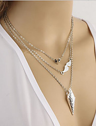 New Arrival Fashional Hot Sellign Geometric Multilayer Necklace