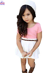 Children Kids Children Baby Girl Summer Shirt & Skirts 2 Pcs Sets Clothes