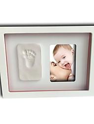 Baby new memorial DIY hand prints frame box set series