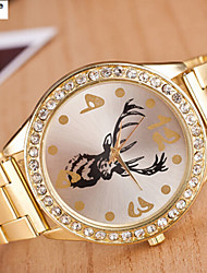 Lady'S Quartz Swiss Alloy Watch Men And Women Steel Belt Watch Fashion Cool Watches Unique Watches