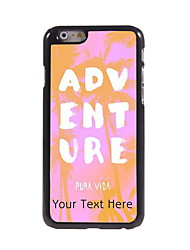 Personalized Gift ADVENTURE Design Aluminum Hard Case for iPhone 6