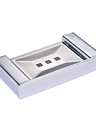 CRW Contemporary Chrome Wall Mounted Soap Dishes