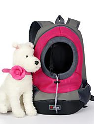 Gato Cachorro Tranportadoras e Malas Animais de Estimação Cestos Portátil Respirável Verde Azul Rosa Amarelo Nailom
