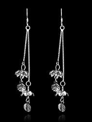 2015 novos produtos ocasional esterlina brincos de prata jóias declaração fina