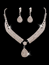 Women Party/Casual Western Style Fashion Alloy/Cubic Zirconia Necklace/Earrings Sets