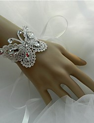 Wedding Flowers Hand-tied Wrist Corsages Wedding Party/ Evening Lace