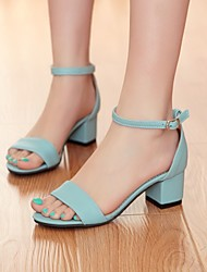 Women's Shoes  Chunky Heel Heels/Gladiator Sandals Office & Career/Dress Black/Blue/Purple/White