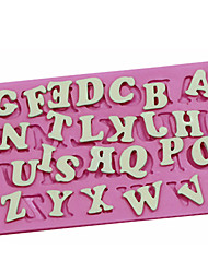 English Alphabet Capital Letter Shaped Bake Fandant Cake Choclate Candy Mold Cake Decorating Sugar Craft Mould