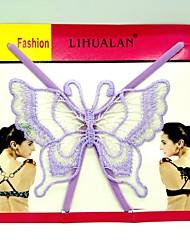 귀여운 기 batterfly 패턴 퓨어 컬러 보이지 않는 뒷면 속옷 끈 (모듬 색상)