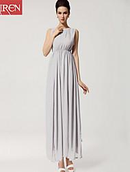 Muairen®Women'S Bohemia Beach Dress Chiffon Dress Slit Halter Straps